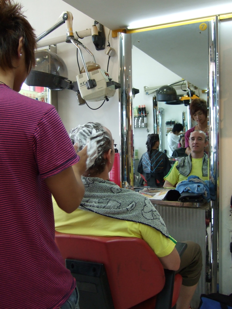 hair salon in China